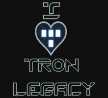 I Love Tron Legacy by banditcar