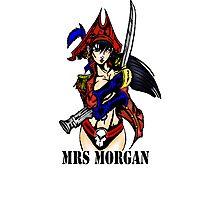 Mrs Morgan Photographic Print