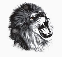 Lion illustration by DPStudios