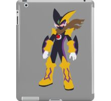 Megaman Bass-Cross Minimalist iPad Case/Skin