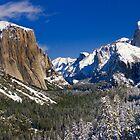 Yosemite Valley Winter by Floyd Hopper