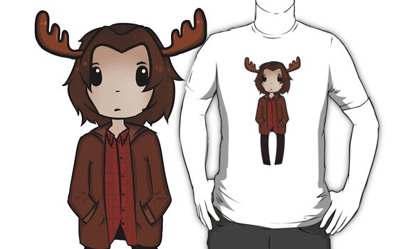 Sam the Moose by Ghostly-Fail