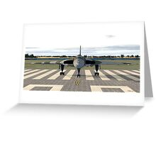 Avro Vulcan (Ready for take off) Greeting Card