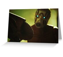 Borderlands Psycho Greeting Card