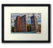 Streets of America Framed Print