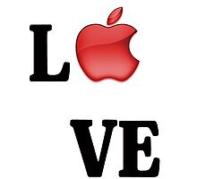 APPLE LOVE by MBclothing