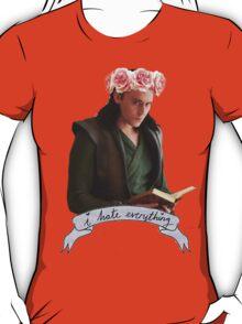 Loki and Flowers T-Shirt