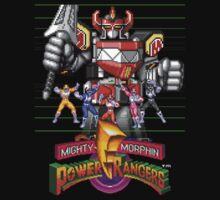 16 Bit Rangers  by Jeremy Borella