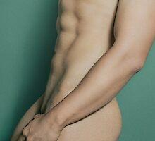Nude Male Torso by enriquepma