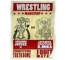 Jaycee VS R. Mika Poster