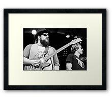 Coy Bowles & Jimmy De Martini Framed Print