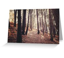 Trees Greeting Card
