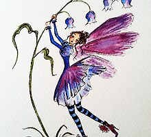 Bluebell Fairy by Catfirra