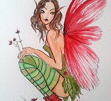 Red Shoes Fairy by Catfirra
