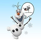 Frozen -  Olaf the Snowman by hardsign