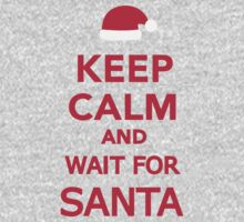 Keep calm and wait for Santa by Designzz