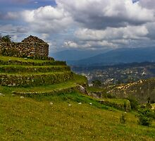 Inca Ruins On Mount Cojitambo, Ecuador by Al Bourassa