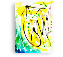 Untitled Abstract Painting Canvas Print