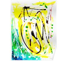Untitled Abstract Painting Poster
