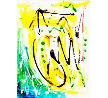 Untitled Abstract Painting Photographic Print