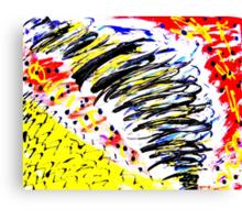 Tornado- Unique Painting  Canvas Print