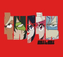 Kill la Kill Elite Four by badwyrm