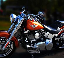 FAT BOY - Harley Ride Day by Andrew Prince