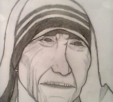 Mother theresa by lazovic