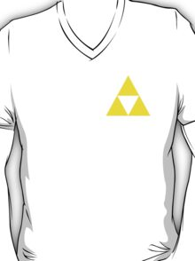 Triforce Badge Yellow Low Cost HQ T-Shirt