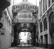 Leadenhall market entrance by bijal pattani