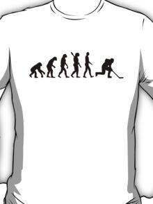 Evolution hockey player T-Shirt