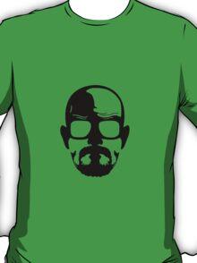 Heisenberg face Silouhette Shadow T-Shirt