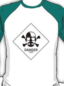Heisenberg face Silouhette Shadow Warning T-Shirt