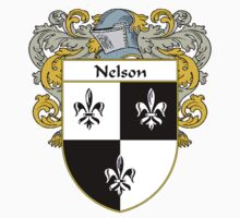 Nelson Coat of Arms/Family Crest by William Martin