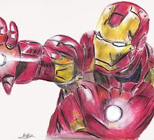 Iron Man by kiringan