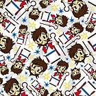 Cute Jesus Christ Pattern by MurphyCreative