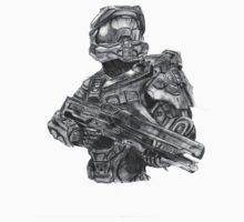 Halo - Master Chief  by kiringan