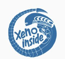 Xeno inside - small blue by hoofster