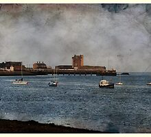 Broughty Ferry  Castle,Scotland. by Forfarlass