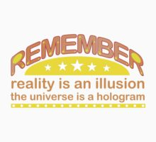 Remember! by taxdollars
