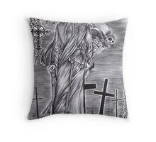Black Butler - Undertaker Throw Pillow