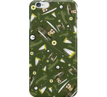 Cute RAF Pilot in Bi-Plane iPhone Case/Skin