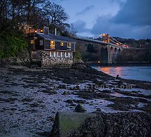 Menai Bridge Boat House by Sarah Davies