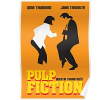 Pulp Fiction Minimal Poster Poster
