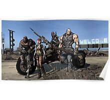 Borderlands - Vault Hunters Poster