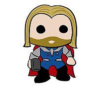 Thor Sticker by rwang