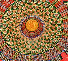 Painted Ceiling in China Pavilion by lmcarlos
