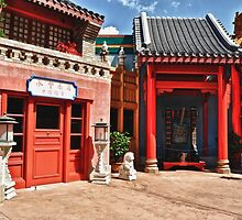 China Pavilion @ Epcot by lmcarlos