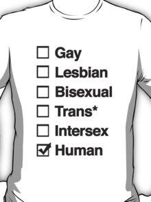 above all human T-Shirt