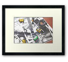 Rocking 35mm (print) Framed Print